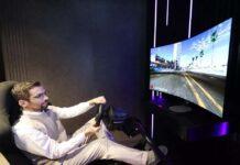 CES 2021 LG gaming monitor